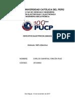 Análisis académico de Vehiculos 100% Electrico