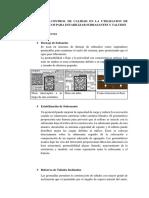Ensayo de Control de Calidad en La Utilizacion de Geosinteticos Para Estabilizar Subrasantes y Taludes