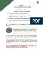 Capítulo 4 Dominios en Windows Server 2012
