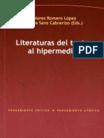 Literaturas Del Texto al hipermedia