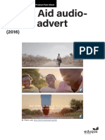 Water Aid Fact Sheet