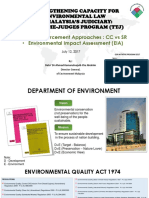 Session 9 Doe Enforcement Approaches Environmental Impact Assessment