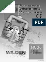 Manual EOM H800 Metal