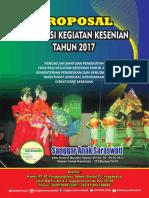 Proposal FKK 2017 Sanggar Anak Saraswati