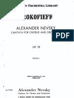 01 Violin 1 S. Prokofiev