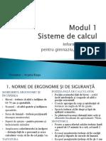 M1 Sisteme de Calcul AB