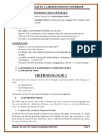 Methodologie de La Dissertation Economique 2017