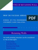 7. Retaining Wall Types New