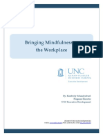 Paper Bringing Mindfulness to the Workplace