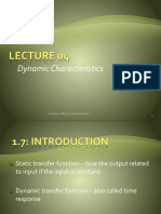 Lecture04 Dynamic Characteristics