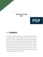 Insurance Business Profile