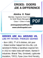 My Heroes Doers Who Made a Difference