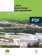 India Bhutan Energy Cooperation Agreement Report
