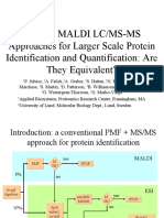 ESI and MALDI LC/MS-MS