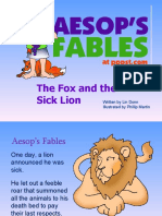 Fox and Sick Lion Aesop