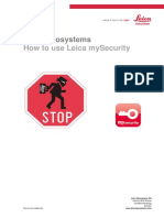How to Use MySecurity