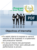 Internship Program Victor Group