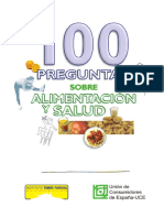 100 Preguntas Sobre Alimentacion y Salud