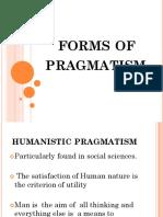 Forms of Pragmatism