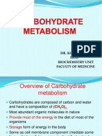 11 - Carbohydrate Metabolism (1)