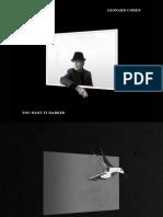 Digital Booklet - You Want It Darker