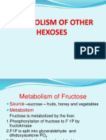 15 - Metabolism of Other Hexoses