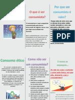 O Consumismo Folder PDF