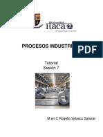 Procesos Industriales Sesión 7