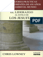 Chris Lowney Liderazgo Al Estilo de Los Jesuitas