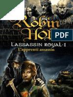 Assassin Royal tome 1 L'Apprenti Assassin  Robin Hobb