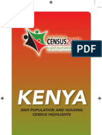 Kenya Census 2009