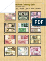 International Currency Quiz Activities Promoting Classroom Dynamics Group Form 27187
