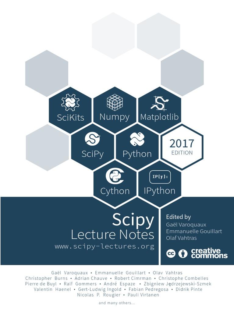 ScipyLectures Simple   Python (Programming Language)   Matlab