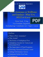Flow Assurance 2005