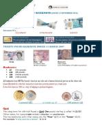 Great Britainuk Money Basics Worksheet Templates Layouts 95761