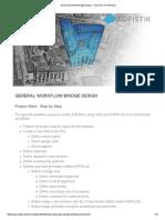 General Workflow Bridge Design — SOFiSTiK TUTORiALS