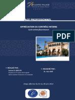 Rapport de Stage Appreciation Du Controle Interne Cycle Achats Fournisseurs