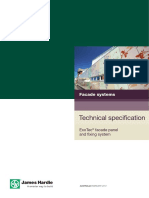 Technical Specification_JH ExoTec Facade Panel