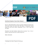 Surat Akuan Penyertaan Sekolah Hour of Code
