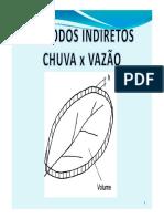 Hidrologia 08 (CEESA) - O Método Racional (Chuva x Vazão (Áreas Pequenas) - Métodos Indiretos)