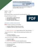 Synthèse présentation division technique du travail