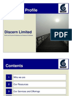 Discern Profile