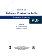 Tobacco Free Initiative Executive Summary