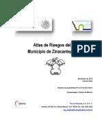 Atlas de Riesgos Zinacantepec