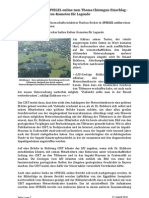 Chiemgau Impact - Kommentar zum Artikel in SPIEGEL online vom 25.08.2010