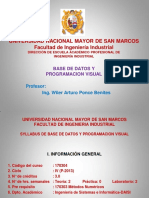 Base de Datos Syllabus 2016 2 Ppt