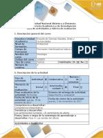 Guía de Actividades y Rúbrica de Evaluación - Fase 4 - Las Sendas Del Afecto