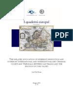 Quaderno Europeo 75 2015