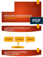 REFLEXIONES EPISTEMOLÓGICAS