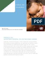 Estrategia mundial de salud de las mujeres y los niños.